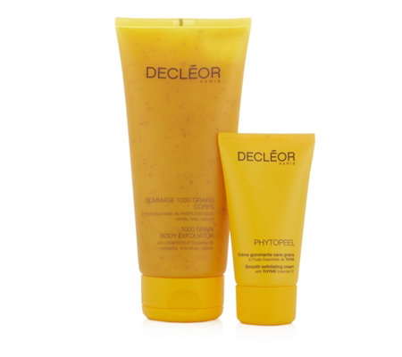 Decleor Body & Face Exfoliator Duo