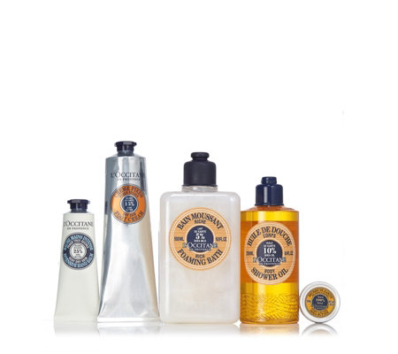 L'Occitane 5 Piece Completely Shea Collection