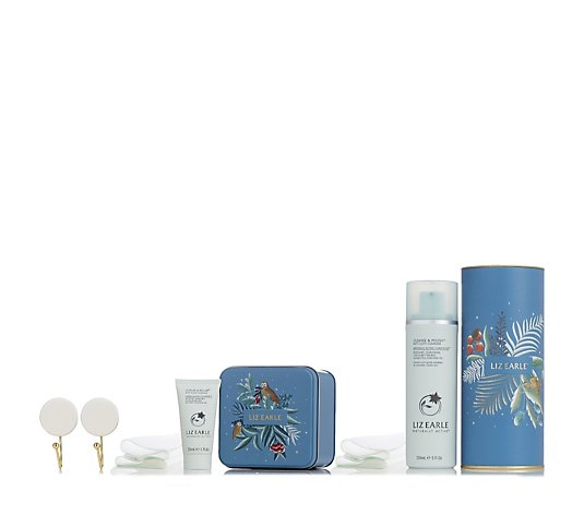 Liz Earle The Gift of Great Skin Cleanse & Polish Collection