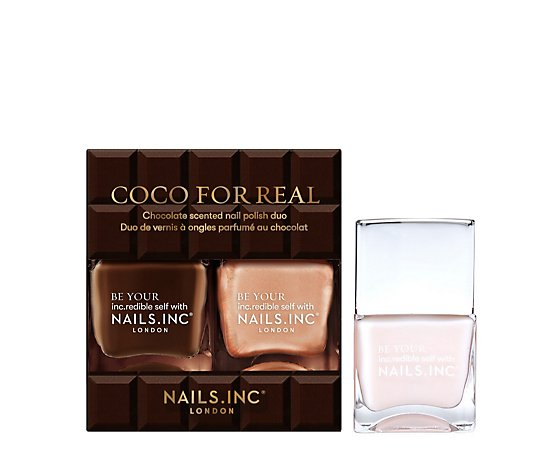 Nails Inc 3 Piece Choco For Real Collection