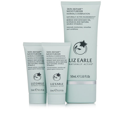 Liz Earle Skin Repair Moisturiser Home & Away