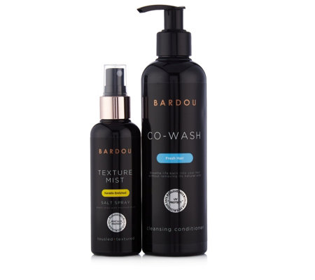 Bardou 2 Piece Cleanse Condition & Style Hair Regime