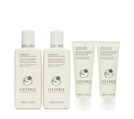 Liz Earle Eyebright Duo With Gentle Face Exfoliator