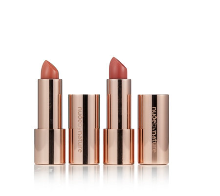 Nude by Nature Moisture Shine Lipstick Duo