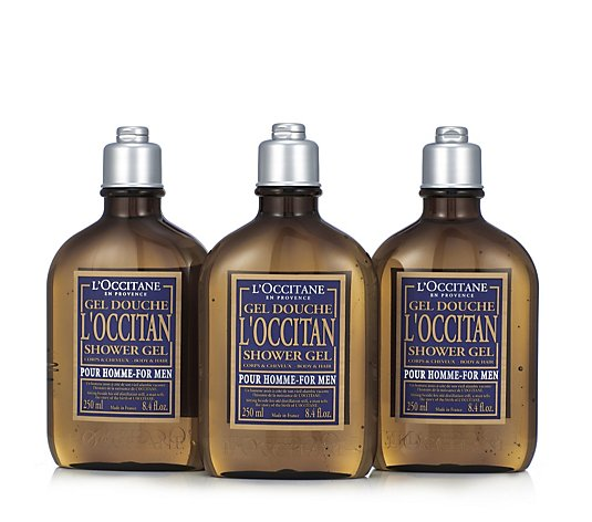 L'Occitane Men's Shower Gel Trio