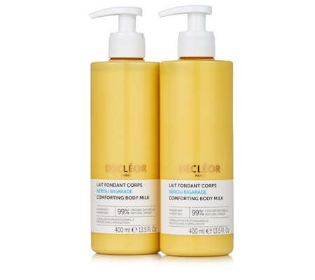 Decleor Supersize Neroli Bigarade Comforting Body Milk Duo 400ml