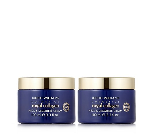 Judith Williams Royal Collagen Neck & Decollete 100ml Duo
