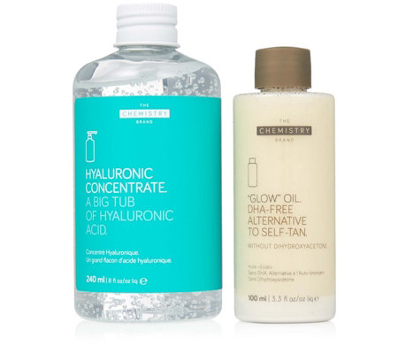 The Chemistry Brand Hyaluronic Concentrate Glow Oil Summer Set