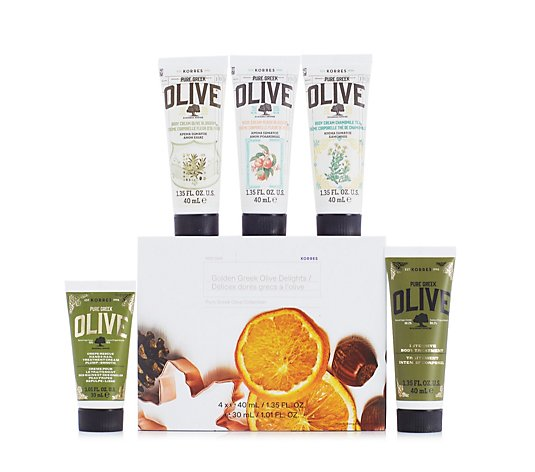 Korres Pure Greek Olive Delight 5 Piece Gift Collection