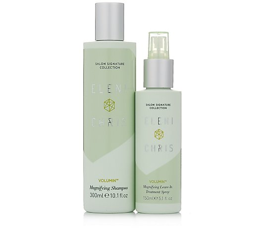 Eleni & Chris Volumin Magnifying Shampoo & Leave In Treatment Spray