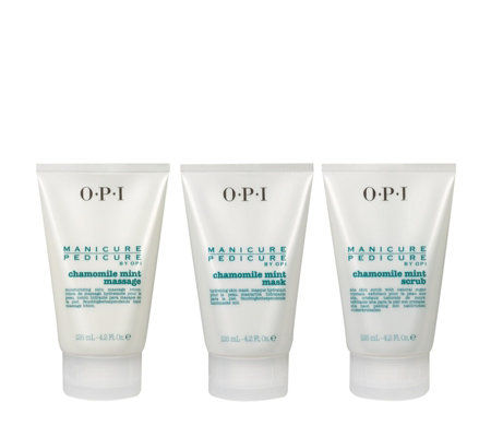 OPI 3 Piece Chamomile Mint Pedicure Collection