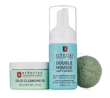 Erborian 3 Piece Korean Double Cleanse Kit