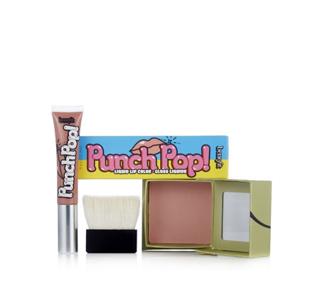Benefit Dandelion Blush & Sugar Cookie Gloss
