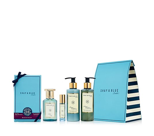 Shay & Blue 4 Piece Fragrance Gift Collection