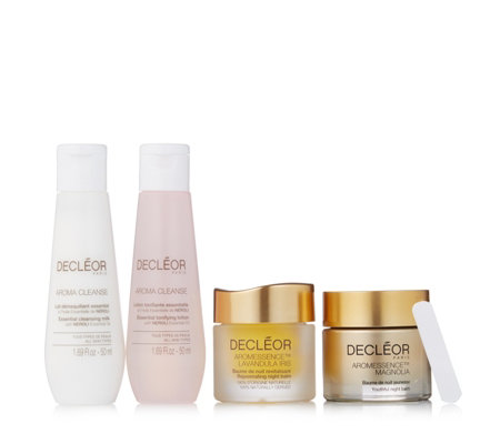 Decleor 4 Piece Anti-Ageing & Contour Night Recovery Collection