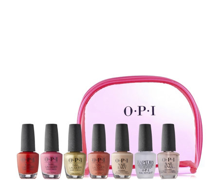 OPI 7 Piece Mexico City Nail Collection & Bag