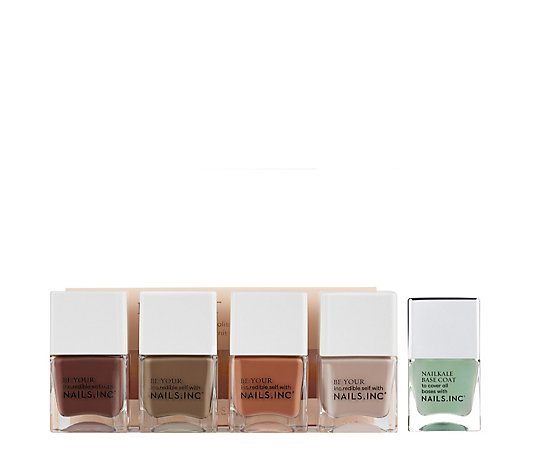 Nails Inc 5 Piece Keep It Tonal Collection