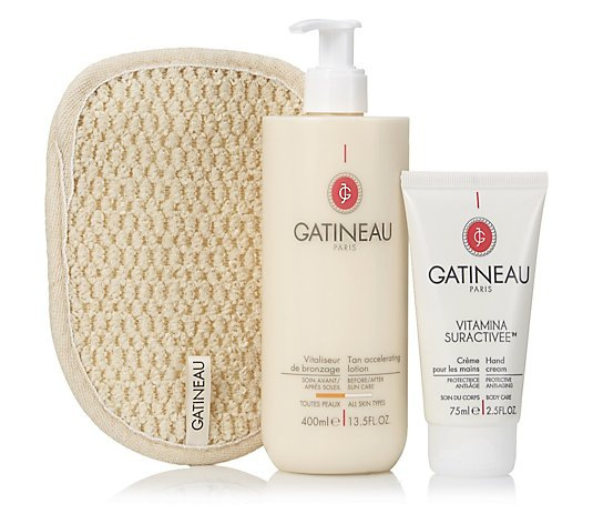 Gatineau 3-Piece Tan Accelerating Lotion Collection