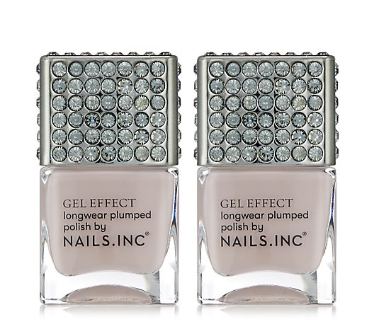Nails Inc Limited Edition Porchester Square Duo 14ml