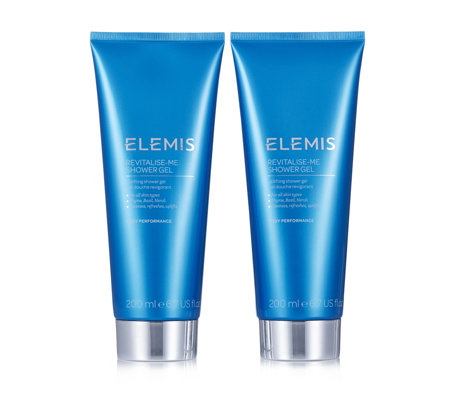 Elemis Revitalise Me Shower Gel Duo