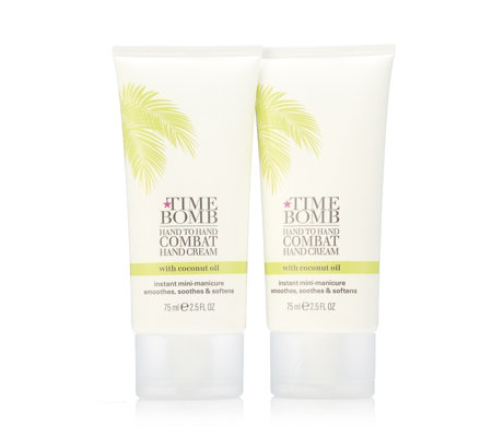Lulu's Time Bomb Coconut Hand Cream 75ml Duo