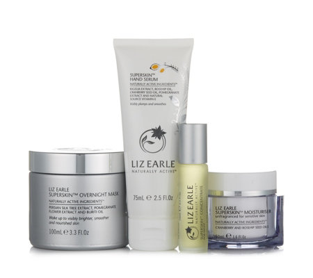 Liz Earle 4 Piece Day to Night Superskin Collection