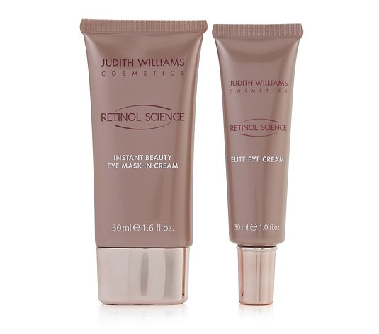 Judith Williams Retinol Science Eye Mask 50ml & Eye Cream 30ml