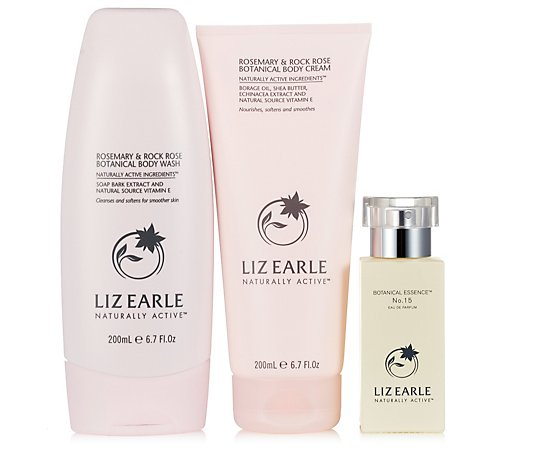Liz Earle Botanical Essence with Rosemary & Rock Rose Body Duo