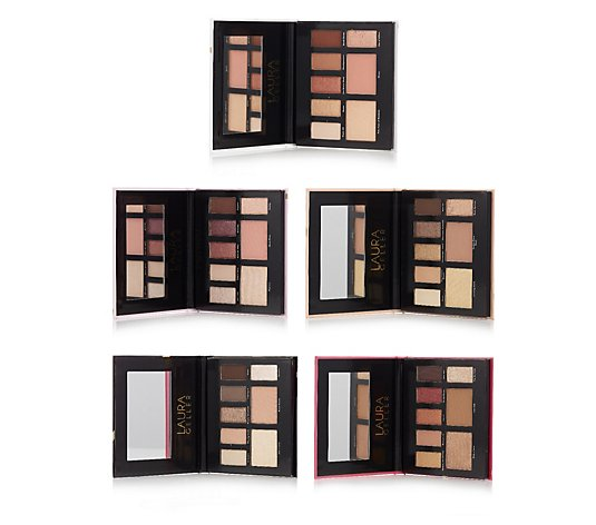 Laura Geller Party in a Palette Set of 5 Eye & Cheek Palettes