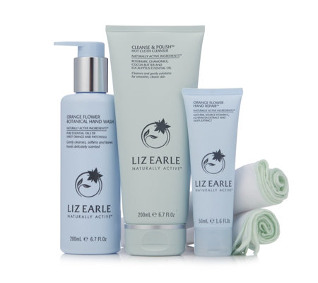 Liz Earle Cleanse & Polish With Handcare Heroes