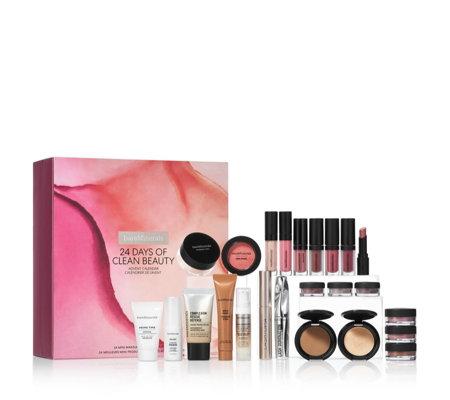 Yankee Candle Calendrier De Lavent 2020.Bareminerals 24 Days Of Clean Beauty Advent Calendar Qvc Uk