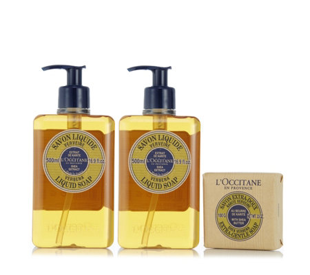 L'Occitane 3 Piece Shea Soap Collection