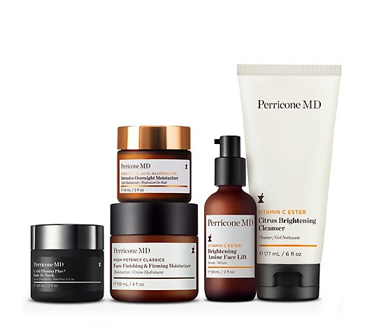 Perricone 5 Piece Hydrating & Brightening Anti-Ageing Collection