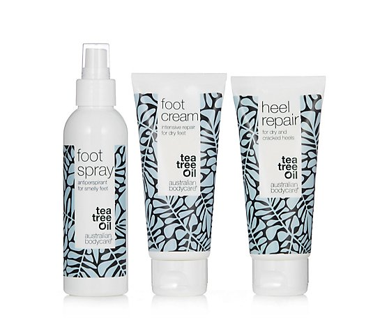 Australian Bodycare 3 Piece Total Footcare Collection