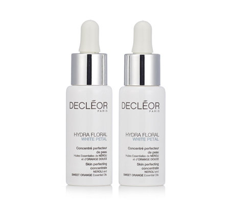 Decleor White Petal Skin Perfecting Concentrate Duo