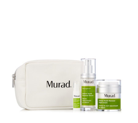 Murad 3 Piece Retinol Youth Renewal Anti-Ageing Collection