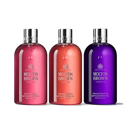 Molton Brown 300ml 3 Piece Body Wash Collection
