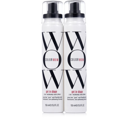 Color Wow Get in Shape Hairspray Duo 150ml