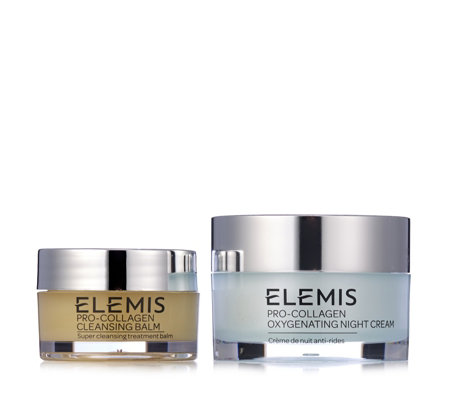 Elemis Pro Collagen Night Cream 30ml & Cleansing Balm 20g
