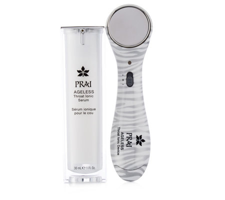 Prai Limited Edition 2 Piece Ageless Throat Device & Serum