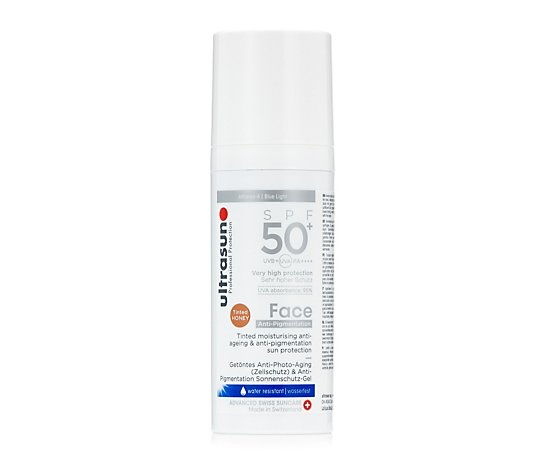 Ultrasun Sun Protection Anti-Pigmentation Tinted Face SPF 50+ 50ml