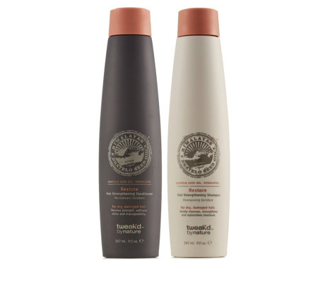 Tweak'd Dhatelo Restore Hair Strengthening Shampoo & Conditioner