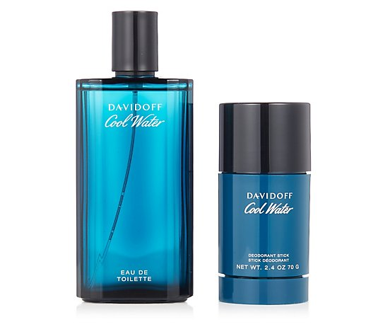 Davidoff Cool Water Man Eau de Toilette 125ml with Deodorant Stick