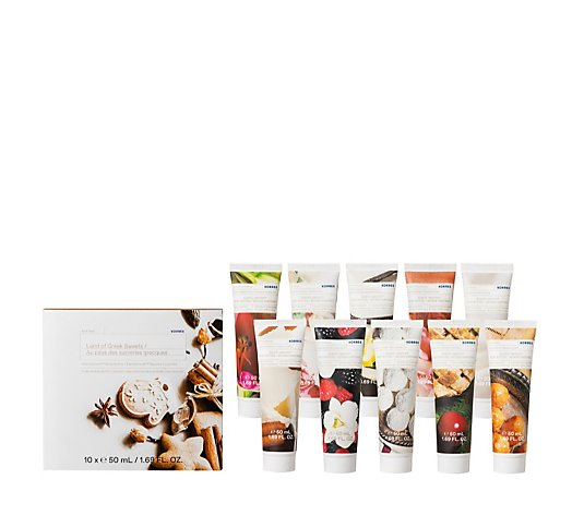 Korres Land of Sweets 10 Piece Body Butter Blockbuster Gift Collection