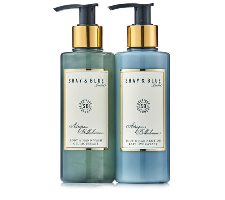 Shay & Blue Atropa Belladonna Body & Hand Wash & Lotion Duo