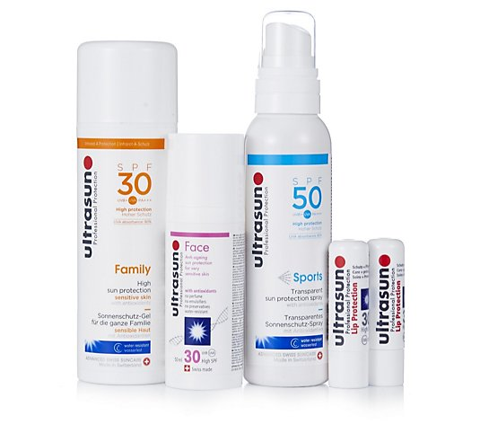 Ultrasun 5 Piece Sun Protection Collection