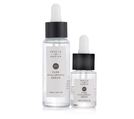 Pestle & Mortar Hyaluronic Serum Home & Away Collection