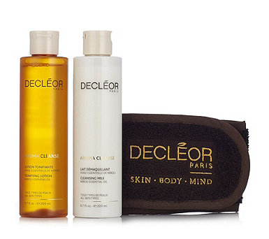 Decleor 2 Piece Essential Cleansing Collection & Headband - 236670