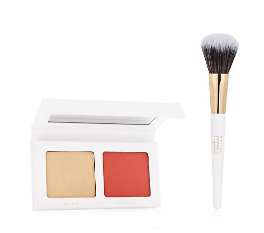 Mally x RuPaul Hiieee-Lighter & Ruge Duo & Blush Brush