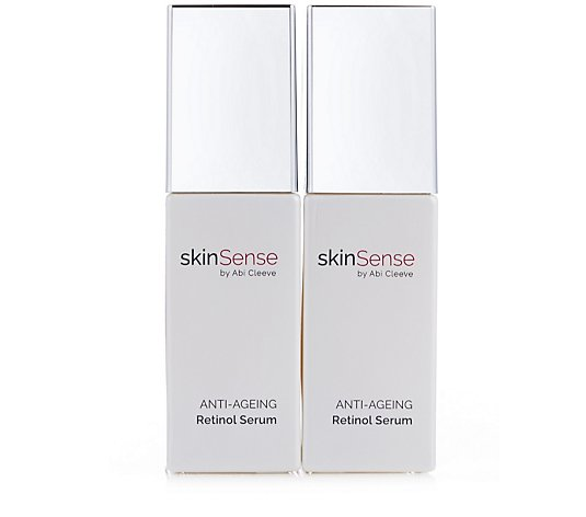 Skinsense Anti-Ageing 0.3% Retinol Serum 30ml Duo